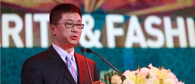 人民网总裁牛一兵为2015环球风尚·年度盛典致开场词