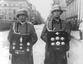 纳粹屠夫海德里希的葬礼