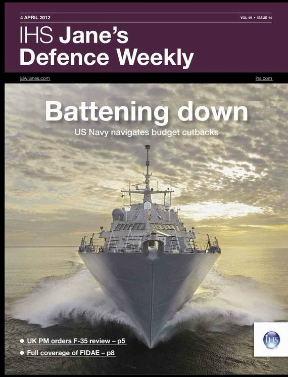 《简氏防务周刊》Jane's Defence Weekly
