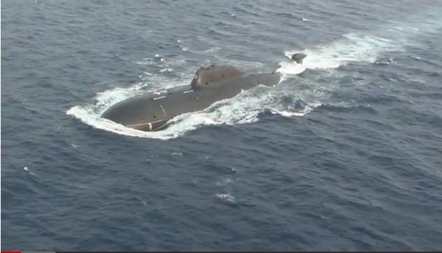 印海军水手自行驾驶俄核潜艇返回本土(组图)