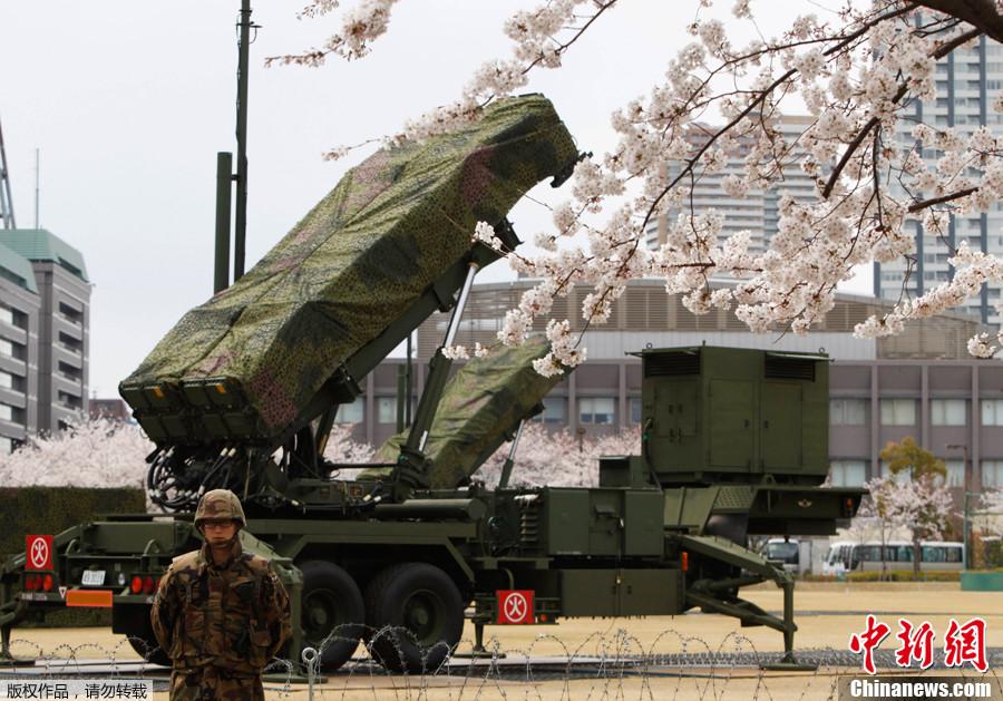 """日本部署""""爱国者-3""""导弹欲拦截朝鲜火箭_国际新闻 ..."""