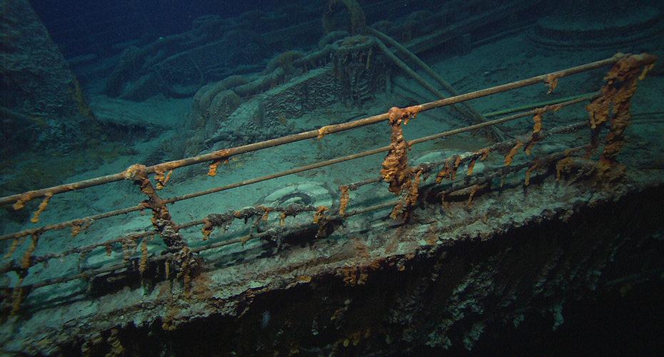 泰坦尼克号沉没一百周年特辑图片