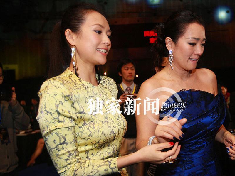 章子怡/中国电影导演协会2011年度表彰大会表彰典礼,4月8日晚间在北京...