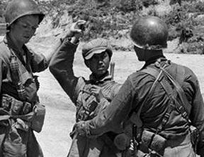 美拍志愿军战士被俘照