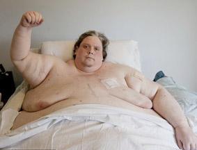 世界最胖男子368公斤