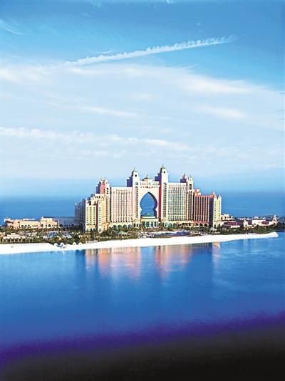 现代沙漠之城迪拜摄人心魄的魅力