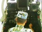 曝光我老飞豹战机后舱