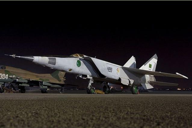 空军 利比亚/利比亚空军的苏制米格/25R侦察机。...