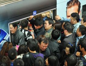 北京地铁故障乘客滞留