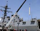 宙斯盾舰垂射装置细节