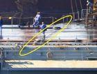 中国航母拦阻索曝光