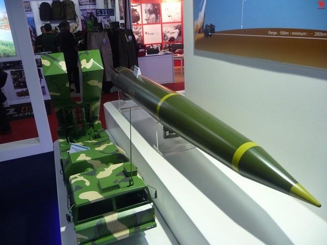 M20地对地导弹现身马来西亚防务展2012