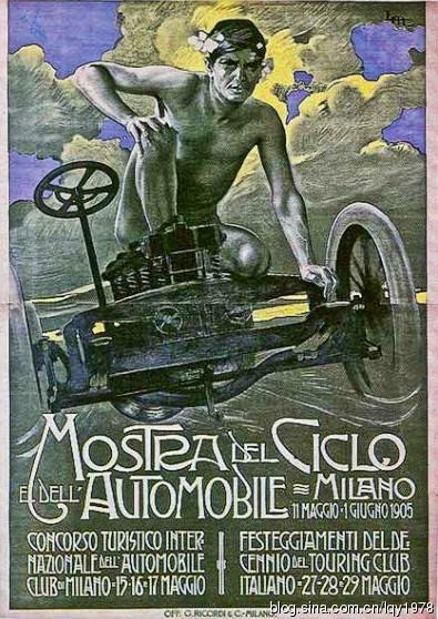 """欧美最早裸体""""车模""""广告"""
