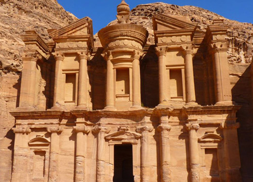 约旦佩特拉古城——悬崖绝壁上的都城