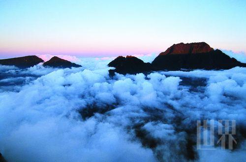 海上仙山留尼汪 饱览那抹凝固的风景