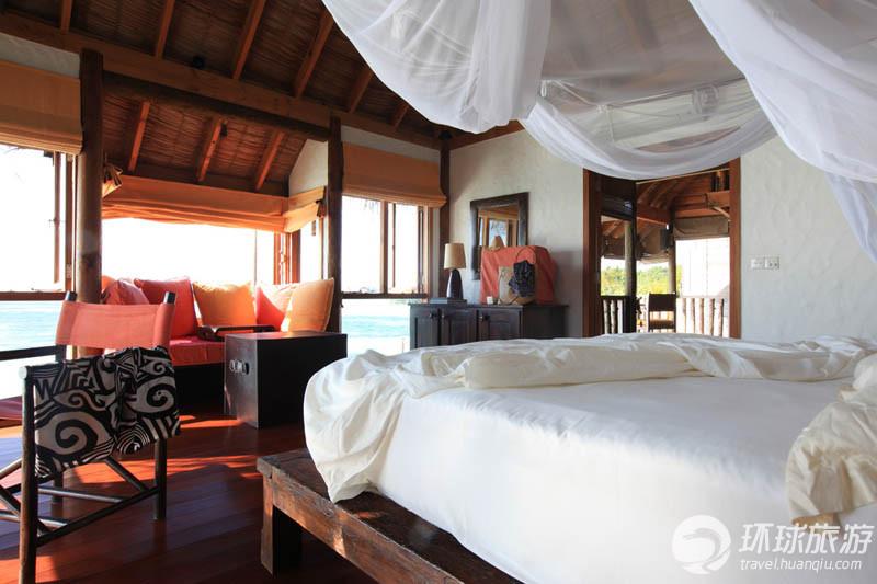 高清大图:走进马尔代夫水上屋酒店