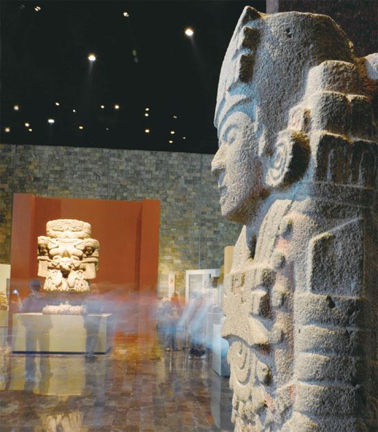 墨西哥人类博物馆解析2012玛雅预言