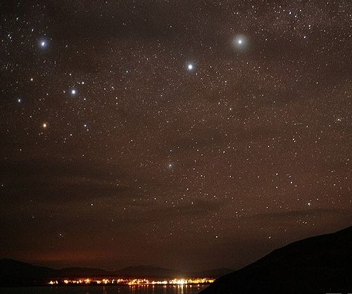 新西兰熠熠星空下爱的诺言