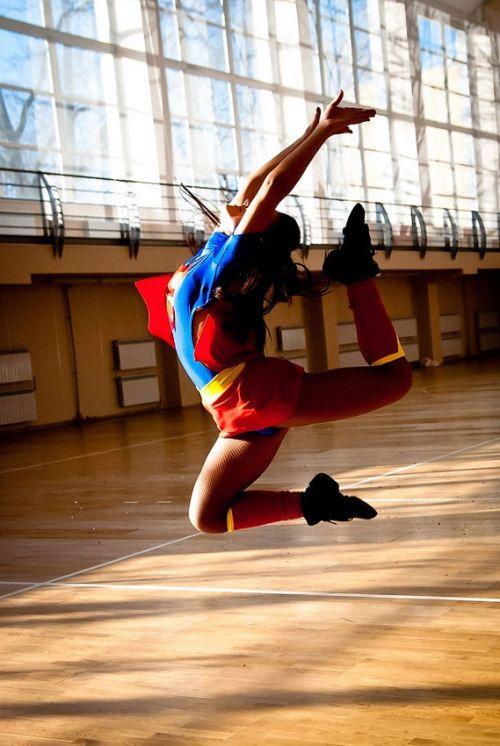 热辣青春!俄罗斯大学美女啦啦队