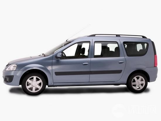 俄罗斯拉达汽车发布Largus休旅车 基于达契亚高清图片