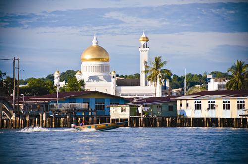 金色的王国文莱 婆罗洲上逍遥岛