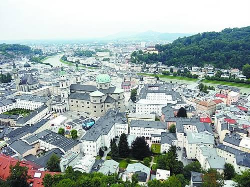 奥地利萨尔茨堡 音符上的世界遗产