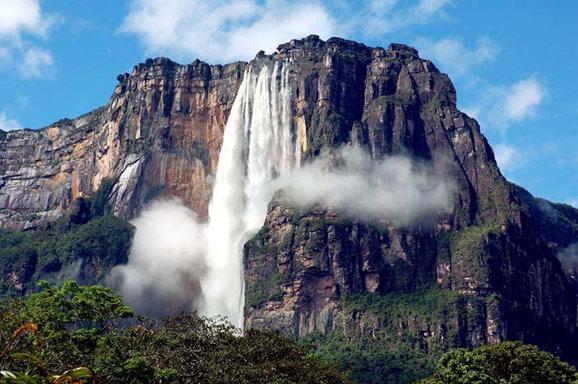 天使瀑布 被上帝遗失在委内瑞拉
