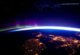 风光摄影:太空站速递