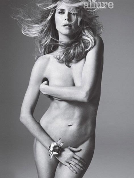 海蒂克鲁姆半裸性感写真