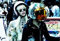 时尚大片:日本街头金属女