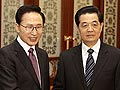 韩国总统李明博访华