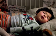 儿童摄影:熟睡的宝宝