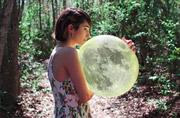 人像摄影:追月亮的女孩