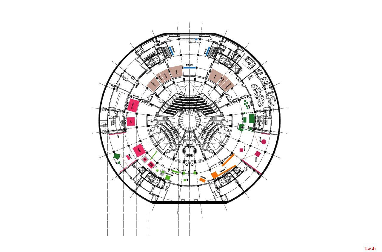 展馆规划图