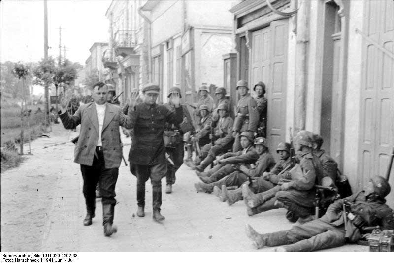 二战德军占领后的苏联图片