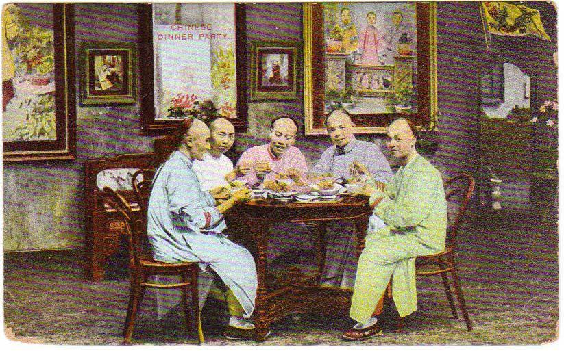 彩色明信片上的晚清中国
