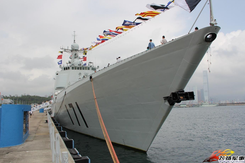 香港最新资讯_中国海军最新型驱逐舰护卫舰迎开放日_军事_环球网
