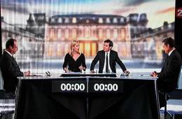 法大选候选人电视辩论