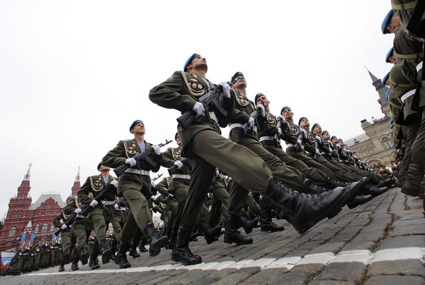 2012莫斯科红场大阅兵(高清组图)