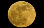 风光摄影:2012的超级月亮