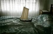观念摄影:在床单上航行