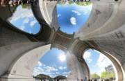 城市风光:无死角的建筑