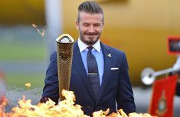奥运会圣火抵达英国