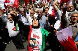 伊朗游行对沙特表不满