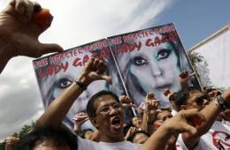菲抗议LadyGaga办个唱