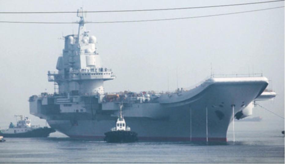 中国航母平台第七次海试 海试高清照 - 春华秋实 - 开心快乐每一天--春华秋实