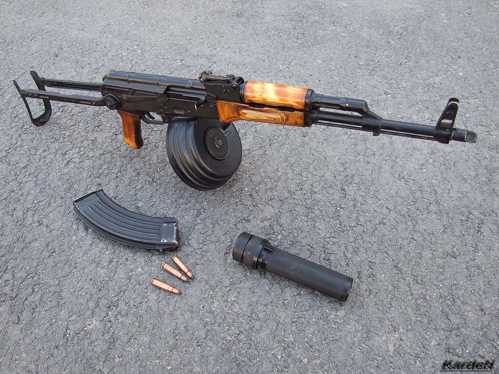 还有 消音 步枪 akm/AKM步枪还有消音版?(4/8)