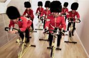 奥运摄影:皇家卫队参赛团
