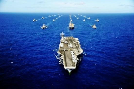 美国航母编队   其他批评人士,比如美国海军陆战队战略顾问诺埃尔&