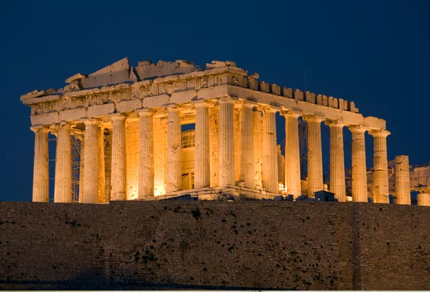 古希腊的经典建筑_历史_环球网